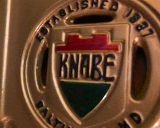 Closeup shot of Knabe whatever that is