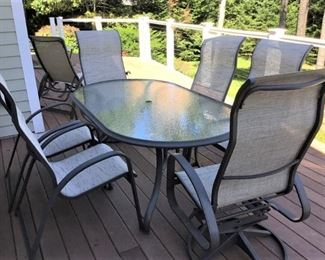 Telescope Patio Set -11 pieces