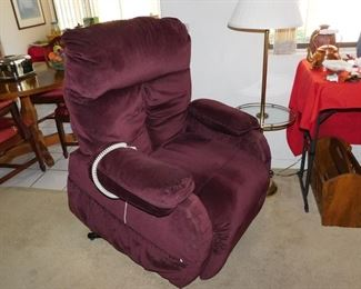 Pride brand ez up recliner chair