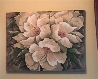 Decor floral art