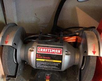 Craftsman Bench Grinder