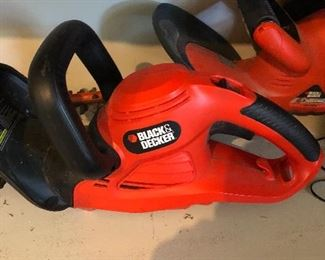 Black and Decker trimmers