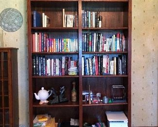 Double wide bookcase 48w x 79h x the 11.5d