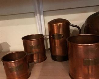 Copper Dispenser set