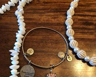 Alex and Ani collectable bracelet