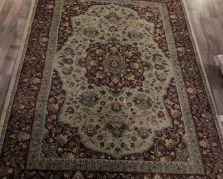 """93.5 X 67"""" Hand made from India Rug"""