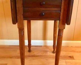 Antique Dropleaf Table https://ctbids.com/#!/description/share/274942