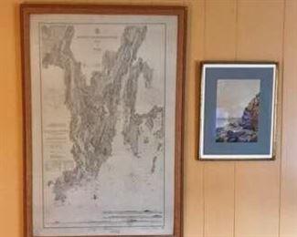Framed nautical pictures https://ctbids.com/#!/description/share/274945