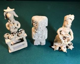 Clay and Stone Sculptures https://ctbids.com/#!/description/share/274959