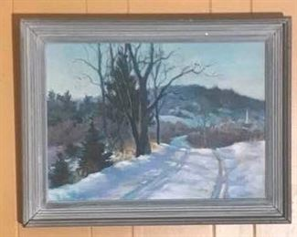Original Oil Painting on Canvas https://ctbids.com/#!/description/share/274967