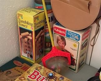 Vintage Fisher price and little Tyke toys