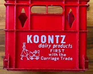 Vintage Koontz Crate