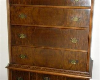 Antique Lammert's Furniture - Tall Chest