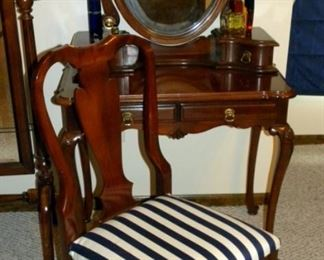 Southern Furniture Co.  Federal Style Vanity & Chair