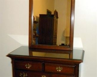 Lexington Furniture Chippendale Style Chest W/ Mirror