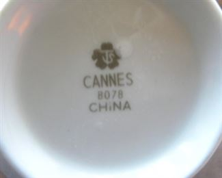 Sango China Cannes Fine China