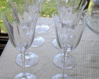 Fine Glass Goblets