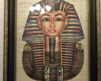 Egyptian Tut Painting