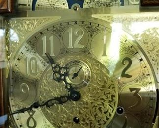 Brass Face of clock...stunning!