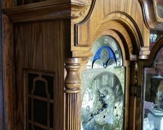 SLIGH Solid Wood, Westminster Chime, Moon phase grandfathers clock