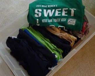 Notre Dame  shirts
