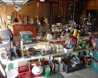 games / garage items / household / MISC
