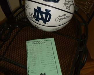LOTS of Notre Dame items