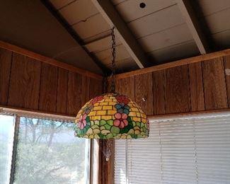 Hanging Tiffany light