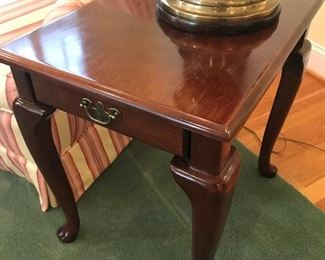 1 Drawer End Table $ 68.00