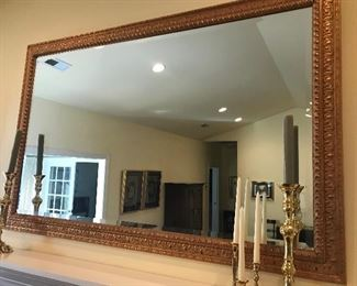 Large Beveled Glass Mirror $ 118.00