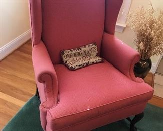 Wingback Chair $ 98.00