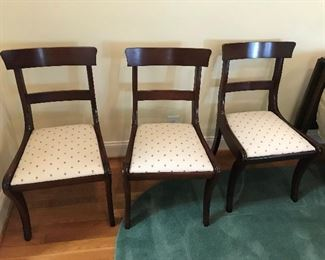 Set of 6 Dining Chairs - $ 40.00 each or $ 280.00 for the set.