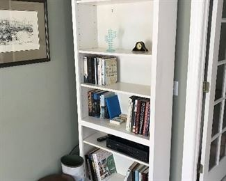 White Bookcase $ 82.00