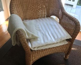Wicker Chair $ 64.00