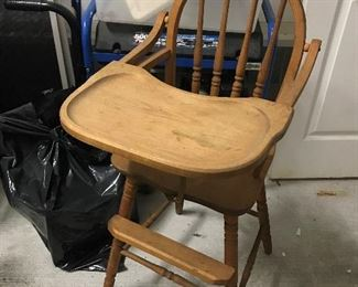 Vintage Hi Chair $ 38.00
