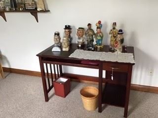 Desk and Collectables