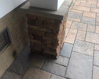 Architectural column stone.