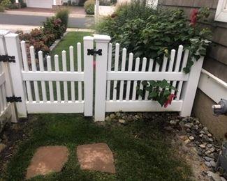 """Gate is 93"""" wide and 34"""" door"""