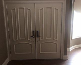 Front doors, fiberglass 36 X 36