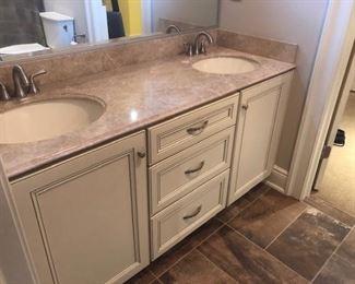 59 1/2 wide double vanity