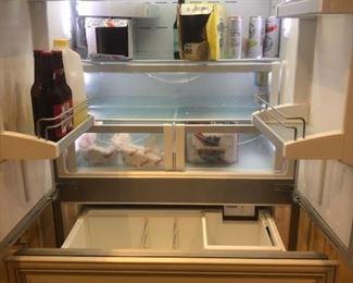 Liebherr Refrigerator interior detail