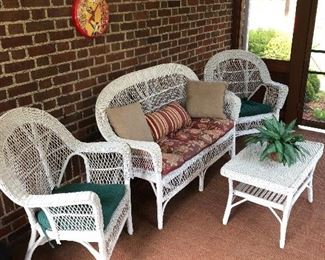 Wicker never goes out of style!