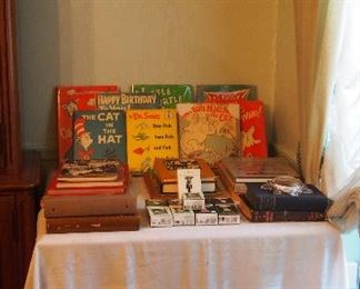 Great vintage books inc. Vintage Dr. Seuss, Oriental and Ikebana, Children's books and more
