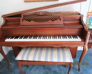 UPRIGHT PIANO BY KOHLER AND CAMPBELL, MODEL # 744806