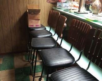 Vintage 1970's Bar Stools