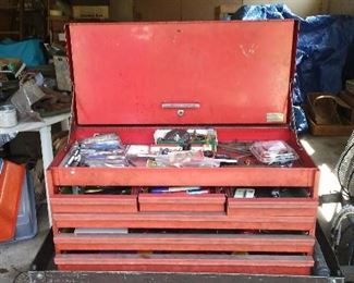 One of two nice toolboxes.