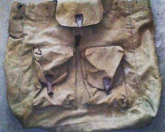 WW2 German field ruck sack.
