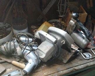 Vintage shop tools.