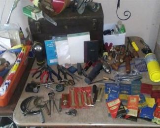 A portion of the tool selection.
