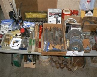 Machinist specialty tools and miscellaneous tools.